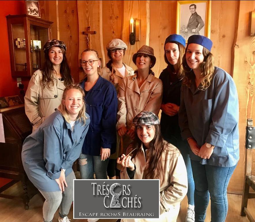 Trésors Cachés Escape Room Beauraing 21